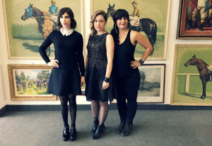 Sleater-Kinney (Carrie Brownstein, Corin Tucker, Janet Weiss) (uncredited photo)
