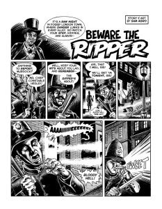 "TOMB OF TERROR #11 ""Beware the Ripper"" (by SAM ARGO)"