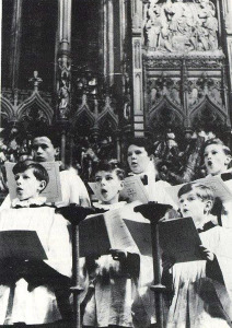 A young Chris Squire, back row, center (uncredited photo)