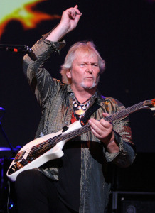 Chris Squire (photo credit: GLENN GOTTLIEB)