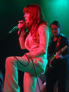 Jenny Lewis with Megan McCormick (photo credit: DARREN TRACY)