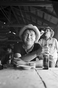 Jerry Jeff Walker, circa mid-1970s (photo credit: SCOTT NEWTON)
