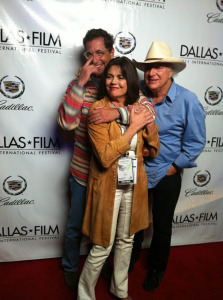 Patrick Tourville with Susan and Jerry Jeff Walker, 2011 (uncredited photo)