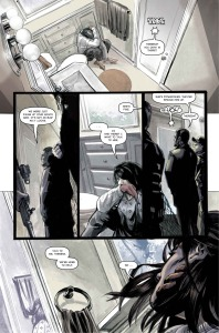 BEHEMOTH, issue 1, page 3 (Written by CHRIS KIPINIAK, art by JK WOODWARD)