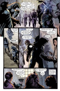 BEHEMOTH, issue 2, page 3 (Written by CHRIS KIPINIAK, art by JK WOODWARD)
