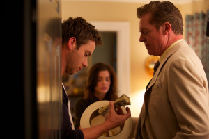 THE SQUEEZE (Jeremy Sumpter, Jillian Murray, Christopher McDonald) (publicity still)