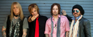 Devil City Angels, 2014  (Eric Brittingham, Rikki Rockett, Brandon Gibbs, Tracii Guns) (photo credit: FABIAN MARTORELL)