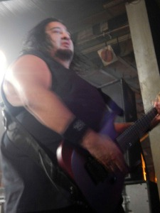 Fear Factory (Dino Cazares) (photo credit: DARREN TRACY)