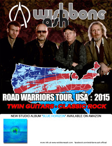 Wishbone Ash ROAD WARRIORS TOUR