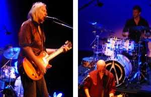 Wishbone Ash, night 2 (Muddy Manninen; Andy Powell and Joe Crabtree) (photo credits: DARREN TRACY)