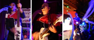 Phenomenauts (Atom Bomb; Angel Nova; Ripley Clips) (photo credits: DARREN TRACY)