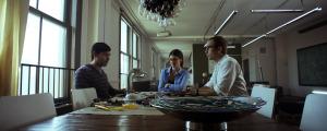 UNCANNY (David Clayton Rogers, Lucy Griffiths, Mark Webber) (publicity still)