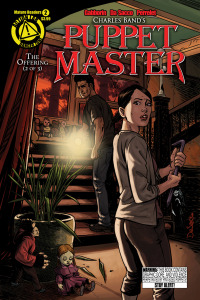 PUPPET MASTER Issue 2 (Cover by MICHELA DA SACCO and YANN PERRELET)