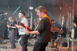 "Stackridge, Cropredy Convention 2008 (James Warren, Michael ""Mutter"" Slater, Andy Davis) (uncredited photo)"
