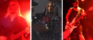 Amaranthe (Olof Morck; Morten Lowe Sorensen; Johann Andreassen) (photo credits: DARREN TRACY)