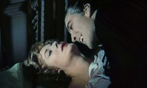 HORROR OF DRACULA (Melissa Stribling, Christopher Lee) (publicity still)