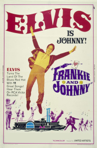 UNPREPARED TO DIE (Poster for the 1966 movie, FRANKIE AND JOHNNY)