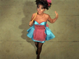 Dawn Wells as the giant's maid in the GILLIGAN'S ISLAND episode, V For Vitamins (video still)