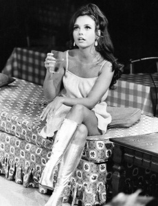 Dawn Wells in THE OWL AND THE PUSSYCAT, circa 1969 (publicity still)