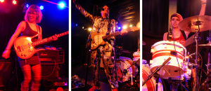 Igor and the Red Elvises (Dejah Sandoval; Igor Yuzov; Jasmin Guevara) (photo credits: DARREN TRACY)