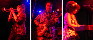 Igor and the Red Elvises (Natalie John; Igor Yuzov; Dregas Smith) (photo credits: DARREN TRACY)