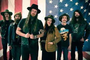 Banditos (Jeffrey Salter; Randy Wade; Corey Parsons; Mary Beth Richardson; Stephen Pierce; Danny Vines) (photo credit: ALBERT KUHNE)