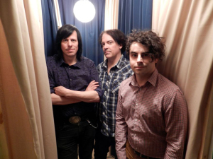 The Poseis (Ken Stringfellow, Jon Auer, Franke Siragusa) (photo credit: MARC GOLDSMITH)