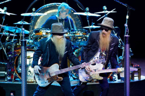 ZZ Top (Dusty Hill, Frank Beard, Billy Gibbons) (uncredited photo)