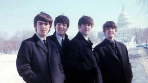 EIGHT DAYS A WEEK: THE TOURING YEARS (George Harrison, Paul McCartney, John Lennon, RIngo Starr, Washington DC 1964) (photo courtesy: APPLE CORPS)