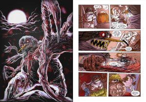 "CHRONICLES OF TERROR, Issue 4: ""Snowvenge"" (written by KIM ROBERTS, art by HARALDO)"