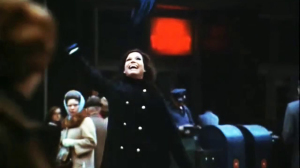 MARY TYLER MOORE (Mary Richards' coming-of-age hat toss) (screen still)