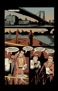 HANK STEINER, MONSTER DETECTIVE Page 5 (Written by SCOTT R SCHMIDT, art by TYLER SOWLES and SARA SOWLES)