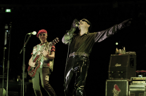 The Damned play the Royal Albert Hall, May 20, 2016 (Captain Sensible, Dave Vanian) (Photo credit: DOD MORRISON PHOTOGRAPHY)