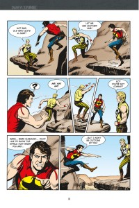 ZAGOR VERSUS SUPERMIKE, page 136 (written by GUIDO NOLITTA, art by GALLIENO FERRI)