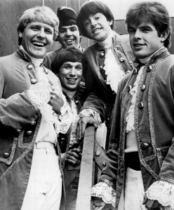 Paul Revere and the Raiders, 1967 (Paul Revere, Drake Levin, Phil Volk, Mark Lindsay, Mike Smith) (publicity photo)