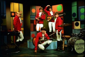 Paul Revere and the Raiders, circa 1966 (Paul Revere, Drake Levin, Mark Lindsay, Phil Volk, Mike Smith) (uncredited photo)