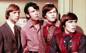 The Monkees (Peter Tork, Mike Nesmith, Micky Dolenz, Davy Jones) (screen shot)